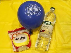 Как надуть шарик с помощью соды и уксуса. Ярмарка Мастеров - ручная работа, handmade.