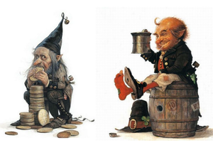 Гномы, мышки , феи картинки для декупажа А4! Бесплатно!. Ярмарка Мастеров - ручная работа, handmade.
