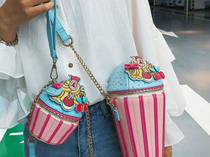 Fashionable Handbags for Those Having a Sweet Tooth. Livemaster - handmade