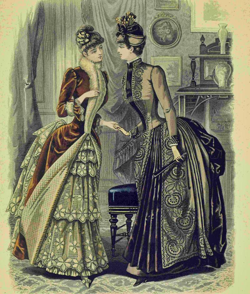 Восхитительная мода конца ХIХ века, фото № 20