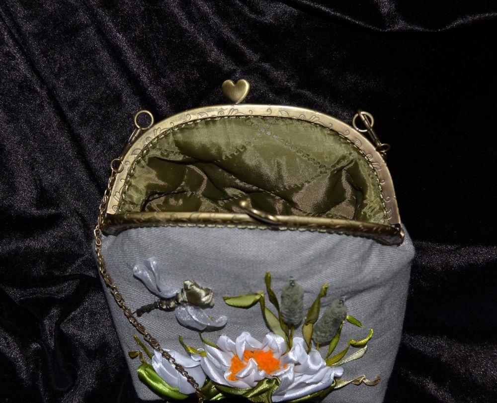 сумочка с фермуаром