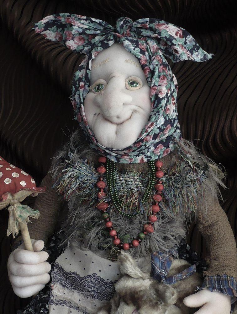 русский стиль, кукла интерьерная