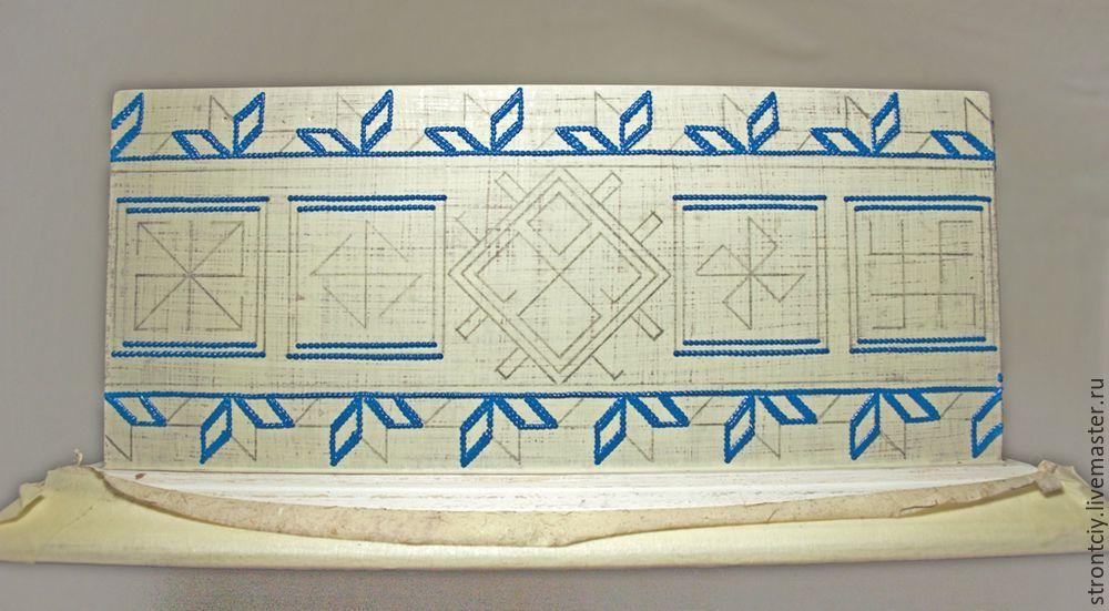 Ткани с имитацией вышивки