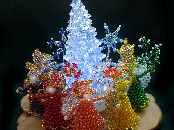 Новая коллекция ангелочков Новогодняя радуга полностью в магазине   Ярмарка Мастеров - ручная работа, handmade