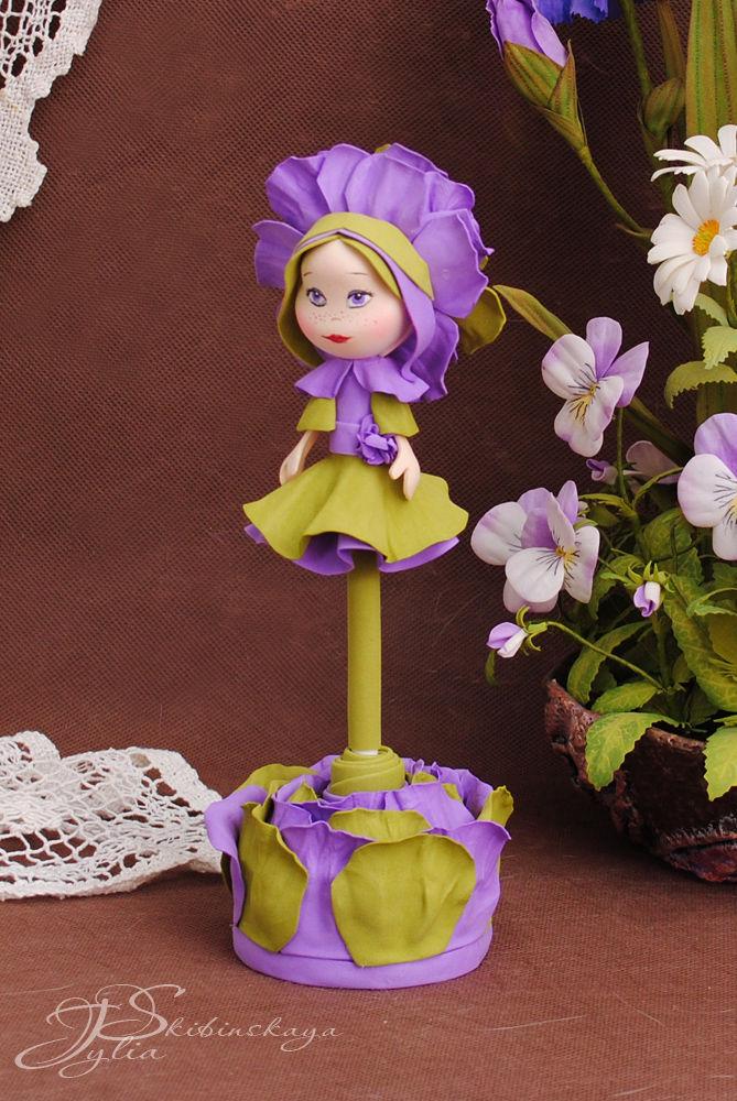 фоамиран, кукла из фоамирана