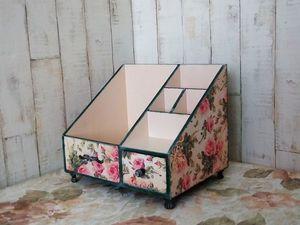 "Комодик ""Розовый сад"" новинка магазина. Ярмарка Мастеров - ручная работа, handmade."
