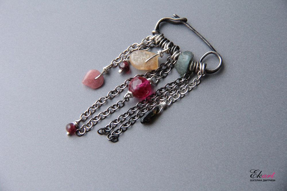Авторские украшения из натуральных камней  и жемчуга своими руками, фото № 10