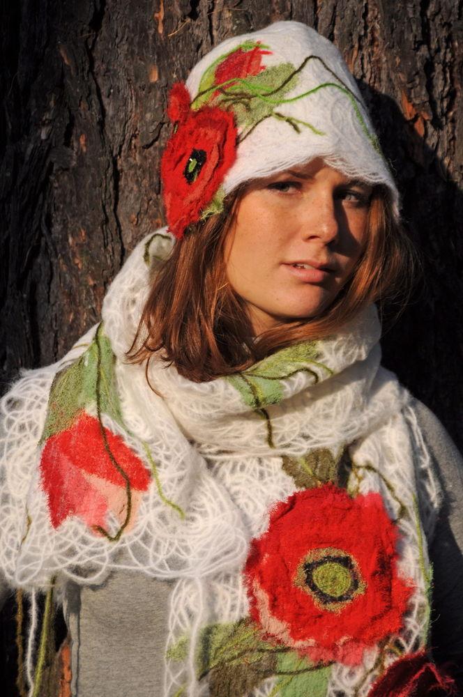 одежда, ярмарка в москве, тёплый шарф