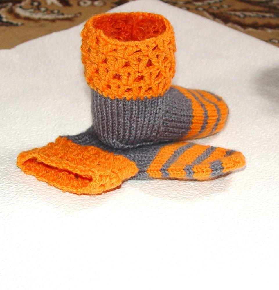 новая работа, носки, дети, детские носочки