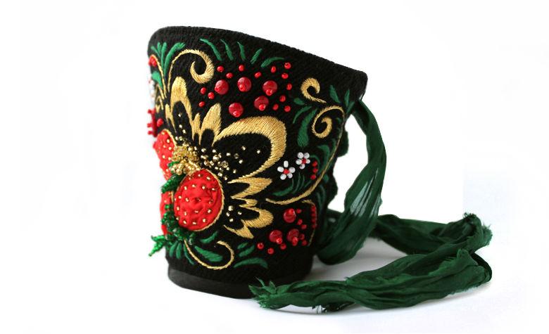 мастер-класс по вышивке, авторские украшения