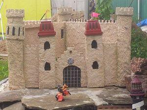 Создаем своими руками средневековый замок из пенопласта. Ярмарка Мастеров - ручная работа, handmade.