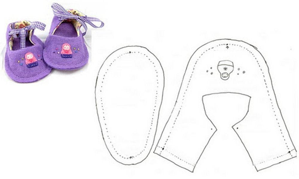 Как сделать кукле беби бон обувь