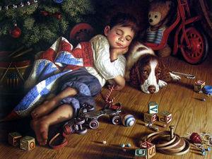 Путешествие в детство с иллюстрациями Jim Daly. Ярмарка Мастеров - ручная работа, handmade.