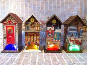 Рождественские домики! | Ярмарка Мастеров - ручная работа, handmade