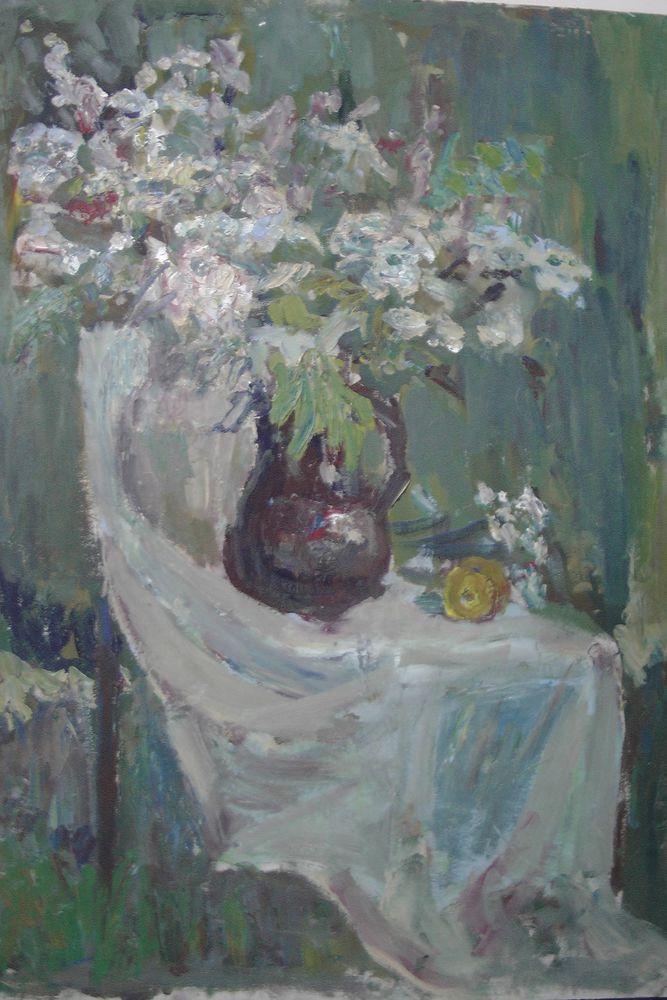 подарки к 14 февраля, пленэр, натюрморт с цветами, живопись-впечатление, букет на траве