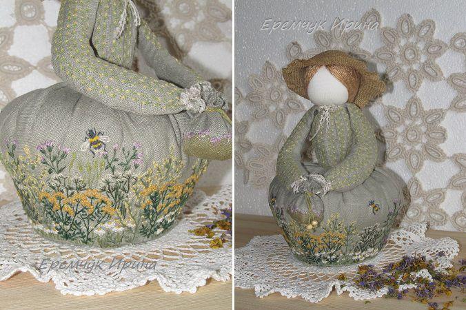 Арома-куколки - отличный подарок ручной работы, фото № 3