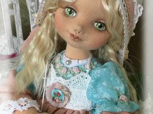 Снежана коллекционная текстильная кукла. | Ярмарка Мастеров - ручная работа, handmade