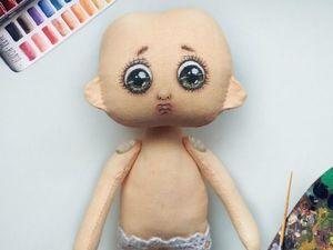 Сказка о появлении на свет куклы. Ярмарка Мастеров - ручная работа, handmade.