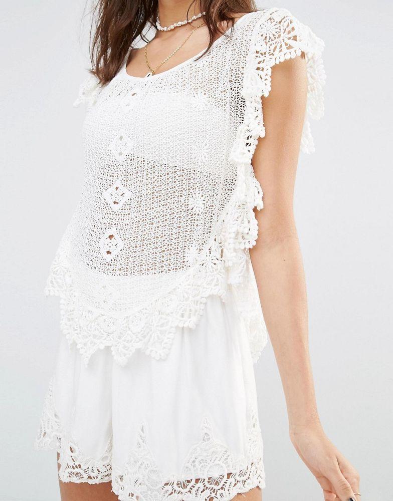 Белое бохо, или Шикарная одежда для королевы летнего пляжа, фото № 69
