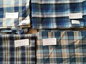 Шотландка: остатки ткани. Ярмарка Мастеров - ручная работа, handmade.