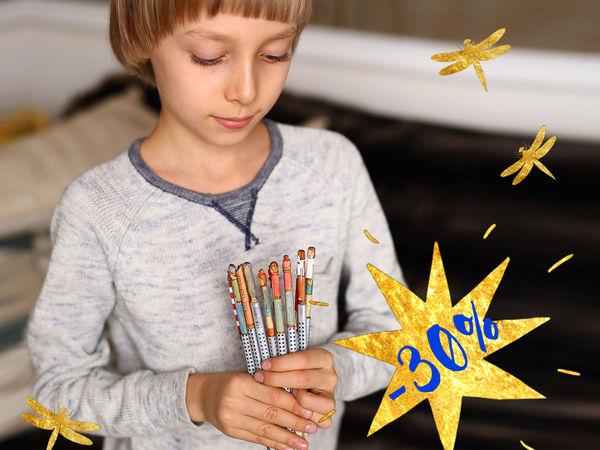Готовимся к школе с Карандашиками! СКИДКА 30%! | Ярмарка Мастеров - ручная работа, handmade