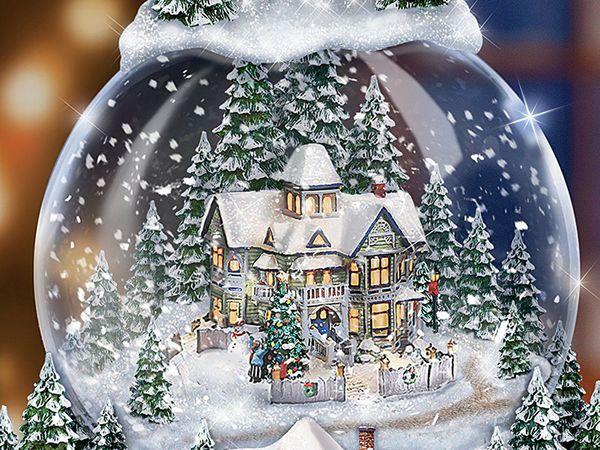 Снежный ценопад   Ярмарка Мастеров - ручная работа, handmade