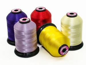Нитки для вышивки и стёжки Aurora  120 d/2 1000м | Ярмарка Мастеров - ручная работа, handmade