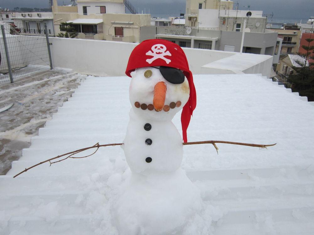 крит, запись в блоге, crete, публикация, снеговик