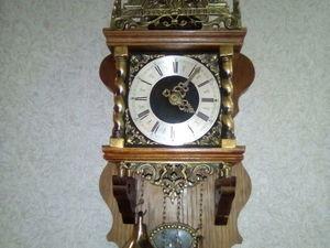 Часы настенные с боем Германия. Ярмарка Мастеров - ручная работа, handmade.