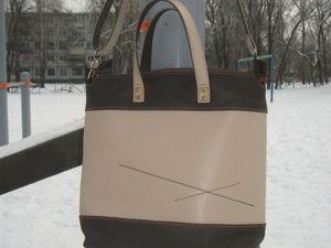 Классическая женская сумочка, цвет бежс2 | Ярмарка Мастеров - ручная работа, handmade