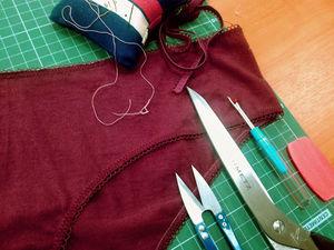 Шьем трусики-слипы. Ярмарка Мастеров - ручная работа, handmade.