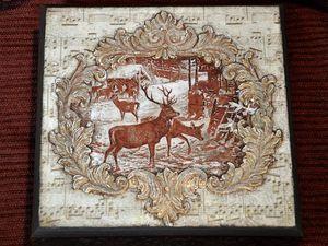 Декорируем чайную коробку «В старом шале». Ярмарка Мастеров - ручная работа, handmade.