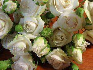 Кустовые розы. Ярмарка Мастеров - ручная работа, handmade.