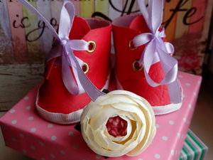 Ботиночки для куклы. Ярмарка Мастеров - ручная работа, handmade.