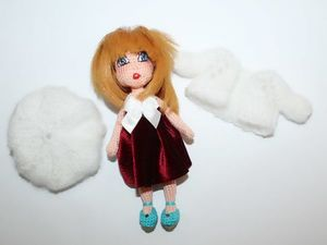 Вяжем куколку амигуруми Аллочку. Ярмарка Мастеров - ручная работа, handmade.