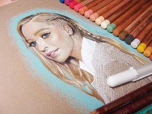 Рисуем портрет пастелью: советы и хитрости. Ярмарка Мастеров - ручная работа, handmade.
