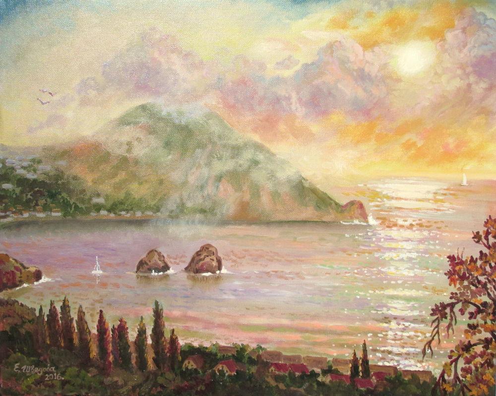 скидка 20%, чёрная пятница, живопись маслом, морской пейзаж, крым, море, ярмарка мастеров, авторская живопись, картина маслом, купить картину, купить в москве, красивая картина купить, картина для интерьера