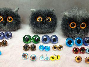 М/к по изготовлению глазок для игрушек | Ярмарка Мастеров - ручная работа, handmade
