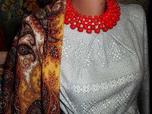 Самое первое платье: