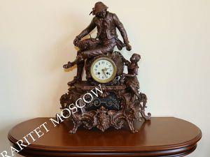 Часы каминные антикварные Japy Freres Франция 4. Ярмарка Мастеров - ручная работа, handmade.