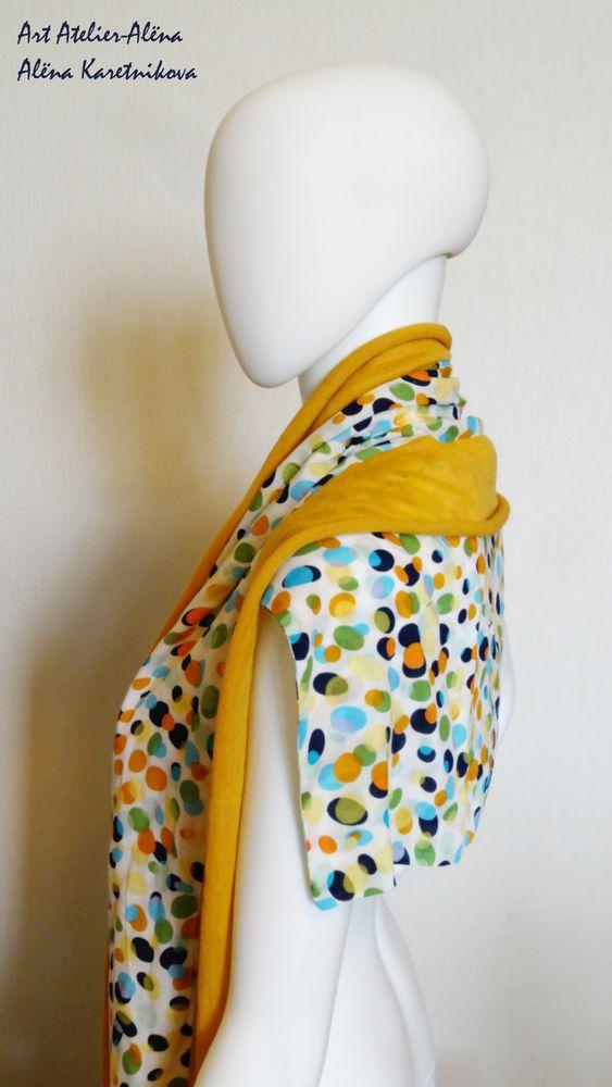 шарф, аксессуар, модный тренд, шарф трансформер