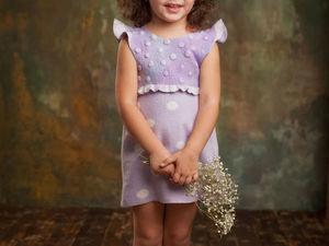 Детский валяный сарафан -60% от цены магазина.  Срочно ищет свою малышку!!!!. Ярмарка Мастеров - ручная работа, handmade.