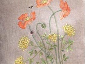Курс японской вышивки по дизайну Татсука Садако. | Ярмарка Мастеров - ручная работа, handmade