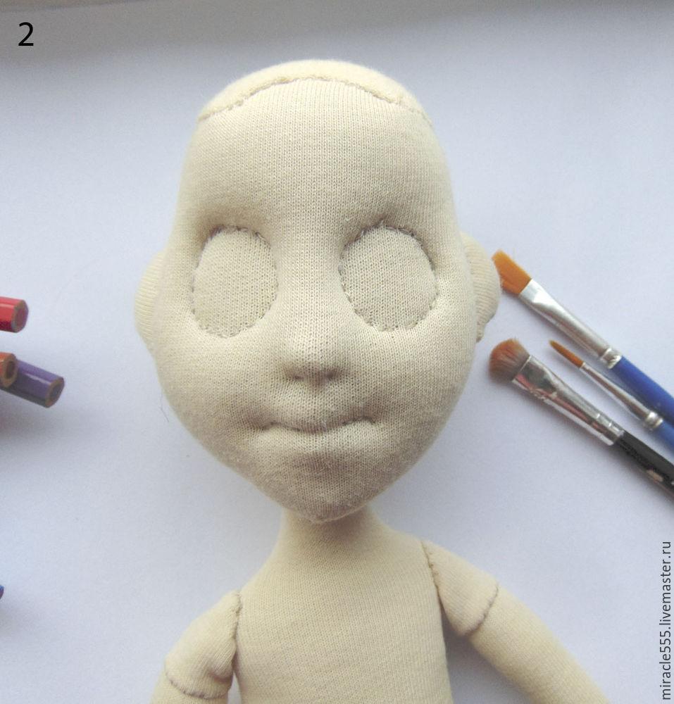 куколка из трикотажа