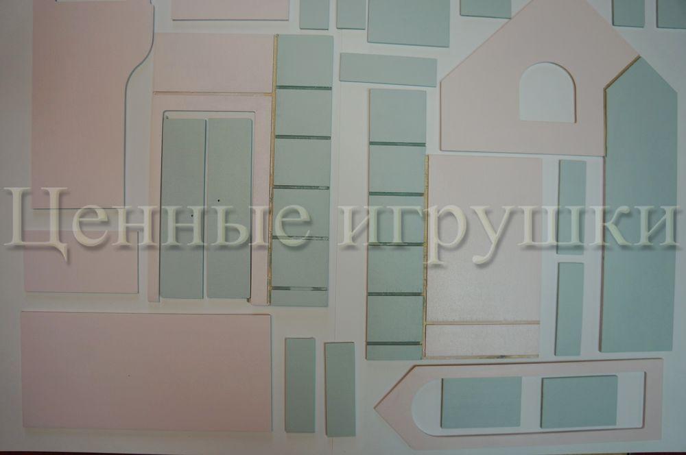 Мастер класс по сборке и оформлению кроватки домика., фото № 3