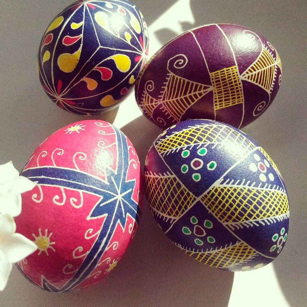 писанки пасхальные, яйца