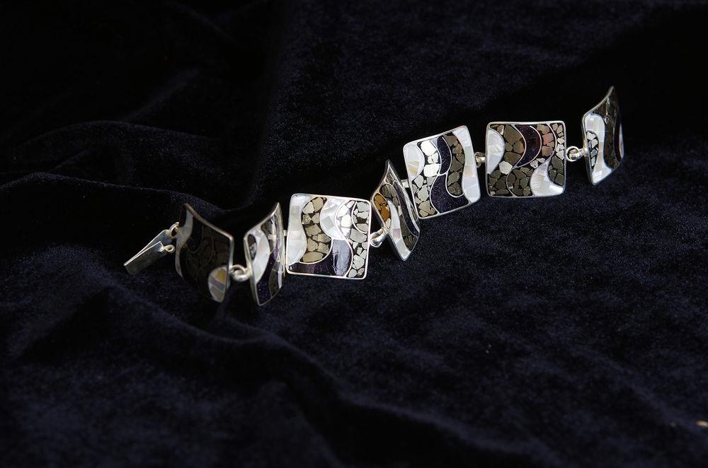 аукционы, браслет из камней
