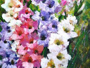 Весенний SALE. Скидки 30-50% на картины с цветами. Ярмарка Мастеров - ручная работа, handmade.