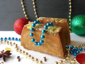 Варим мыло «Рождественский кекс» с корочками цитрусовых. Ярмарка Мастеров - ручная работа, handmade.