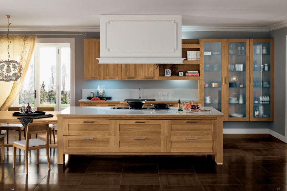 кухня, кухня из дерева, термодревесина, кухня на заказ, стол, дубовый стол, мебель для дома, купить со скидкой